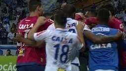 Os gols de Cruzeiro 1 x 1 Santos pela 22ª rodada do Campeonato Brasileiro