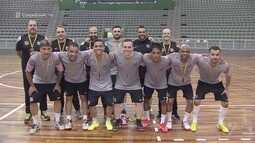 Futsal masculino adulto de Santos garante medalha de ouro