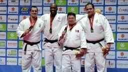 Brasil termina Mundial de judô na quarta posição, com cinco medalhas