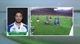 Léo, do Cruzeiro, fala sobre Brasileiro e ansiedade para jogo final da Copa do Brasil