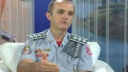 Capitão dos Bombeiros de Mogi fala sobre atendimento às queimadas