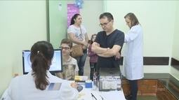 Giro: Sábado é marcado pelo Dia D de Campanha Nacional de Multivacinação