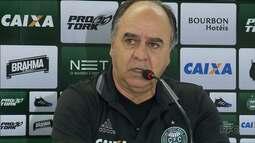 Marcelo Oliveira fala sobre o desempenho do Coritiba