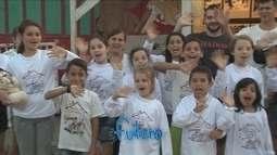 Instituto oferece ações sociais e orientação para crianças em bairro carente de Joinville