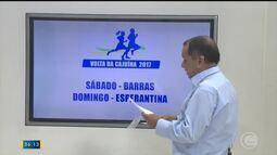 Fique por dentro das datas da Volta da Cajuína; Futsal cinquentão acontece no domingo (24)