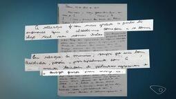 Carta deixada por médica morta no ES revela medo do marido