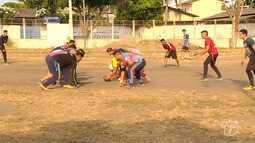 Futebol americano começa a ter adeptos em escolas de Santarém