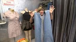 'Expresso da Moda' ensina a transformar uma calça jeans em colete