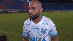 Ricardinho comenta empate do Londrina com o Santa Cruz