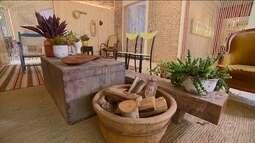 Decoração sustentável usa móveis e objetos antigos na decoração