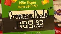 Feirão digital auxilia quem ainda não fez a conversão para o sinal digital