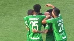 O gol da Chapecoense 1 x 0 Ponte Preta pela 25º rodada do Campeonato Brasileiro