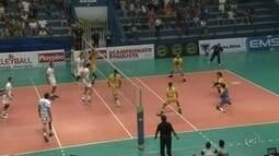 Taubaté vence Itapetininga e encara Sesi-SP na semifinal do Paulista de Vôlei