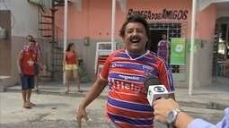 Torcedores continuam comemorando acesso do Fortaleza à Série B nesta segunda-feira (25)