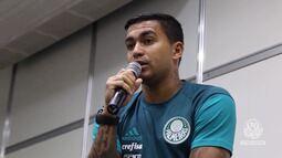TV Palmeiras - Bastidores de uma palestra com o capitão Dudu
