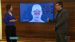 Médico explica sintomas e como resolver problemas com a sinusite