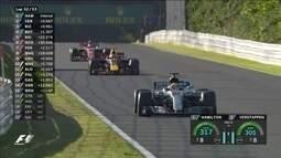 Confira os melhores momentos do GP do Japão de Fórmula 1