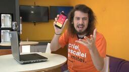 Estagiário do Cartoloucos encara app G1 Enem com ajuda de Muricy, Thiago Neves e Pedrinho