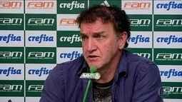 Após empate com o Bahia, técnico Cuca deixa o Palmeiras