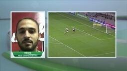 Régis fala sobre golaço marcado contra o Corinthians no fim do jogo