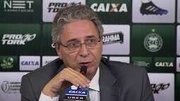 """""""Se eu não acreditar no nosso time, quem vai acreditar?"""" diz presidente do Coritiba"""