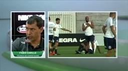 Carille não cogita mudança no Corinthians faltando dez rodadas para o fim do Brasileiro