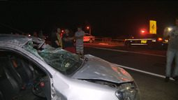 JPB conversa com mulher que sobreviveu ao acidente de trânsito no Cariri da PB