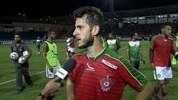 Fellipe Mateus elogia atuação do Boa e diz que empate foi justo
