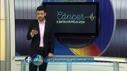 Telespectadores enviam participações sobre a série do JA1 sobre a luta contra o câncer