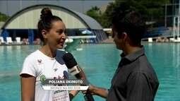 Poliana Okimoto festeja indicação para Hall da Fama da maratona aquática