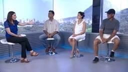Trabalhadores voluntários mostram como fazer a diferença no Rio