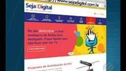 Beneficiários de programas sociais podem receber o kit da TV digital gratuitamente