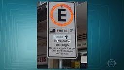 Placas de estacionamento falsas tomam conta das ruas da Zona Sul