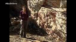 Baú do Terra exibe reportagem de 2007 sobre sítios arquelógicos