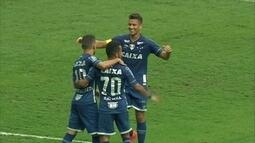 O gol de Cruzeiro 1 x 0 Atlético-PR pela 32ª rodada do Campeonato Brasileiro