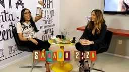 Chamada: Solange Almeida participa do quadro Se Liga Tube neste sábado (18)