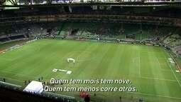 Locutor da Arena Palmeiras alfineta Corinthians