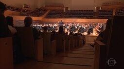 Orquestra Filarmônica de Minas Gerais faz apresentação em Belo Horizonte