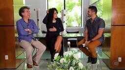 Paulo Betti e Dadá Coelho batem um papo super descontraído com Helder Vilela