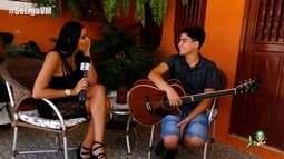 """Luan Rocha participa do quadro 'Iniciando Minha História na Música"""""""