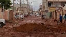 Chuva prejudica obras em Vicente Pires e Sol Nascente