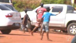 Cena de crianças trabalhando em feiras e mercados tem se tornado comum em Santarém