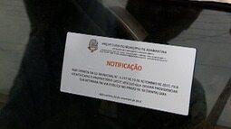 Prefeitura notifica donos de carros abandonados nas ruas de Adamantina