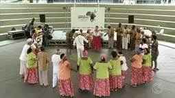 Memorial Zumbi dos Palmares, em Volta Redonda, resgata valores da cultura afriacana