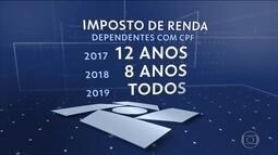 Receita passa a exigir CPF de dependentes a partir de 8 anos no Imposto de Renda