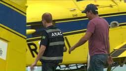 Operação Deriva apreende quatro aviões agrícolas em Londrina
