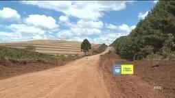 Asfaltamento de SC-390 deve impulsionar agronegócio na região da Coxilha Rica, na Serra