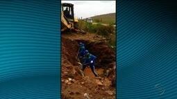 Adutora rompe e deixa quatro municípios sem o abastecimento de água
