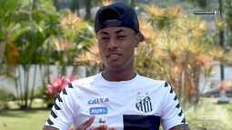 Universo Santástico - Bate-bola com Bruno Henrique, atacante do Santos
