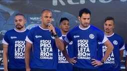 Confiança apresenta elenco e uniformes em Natal Solidário no Sabino Ribeiro